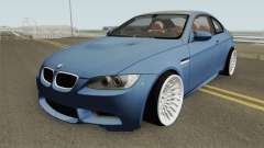 BMW M3 E92 HQ for GTA San Andreas