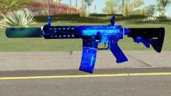 M4A1 Blue Space Silenced