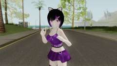 Kaat Cat Girl for GTA San Andreas
