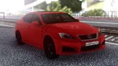 Lexus IS-F 2007 Red for GTA San Andreas