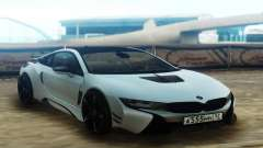 BMW i8 AC Schnitzer ACS8 White for GTA San Andreas