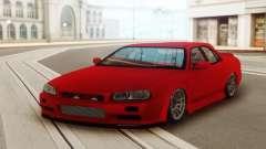 Nissan Skyline ER 34 Red for GTA San Andreas