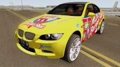 BMW M3 E92 Burgershot 2007 for GTA San Andreas