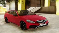 Mercedes-Benz E63 Sedan Red for GTA San Andreas
