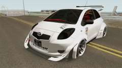 Toyota Yaris Burnok Speed for GTA San Andreas