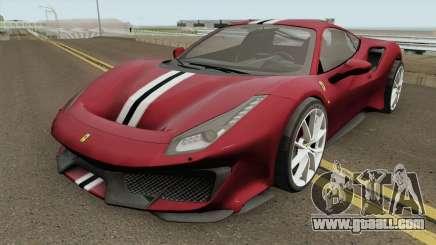 Ferrari 488 Pista 2019 High Quality for GTA San Andreas