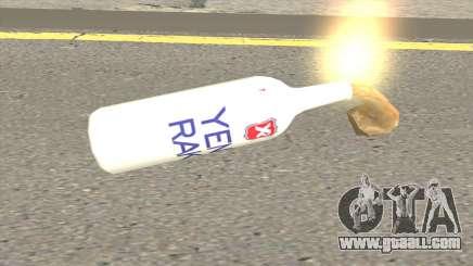 New Molotov Raki for GTA San Andreas