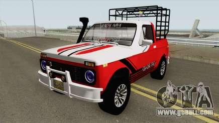 Lada Niva Pick Up for GTA San Andreas