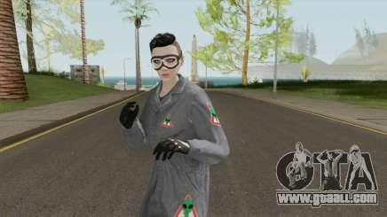 GTA Online Skin Alienbuster Female for GTA San Andreas