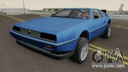 Deluxo Time Machine 1.0 GTA 5 for GTA San Andreas