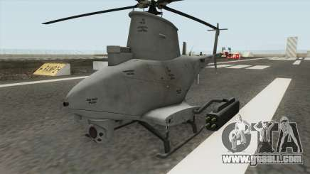 MQ-8B FireScout Drone v1.2 for GTA San Andreas