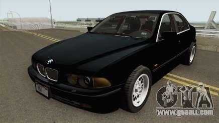 FIB BMW 5-Series e39 525i 1999 (US-Spec) for GTA San Andreas