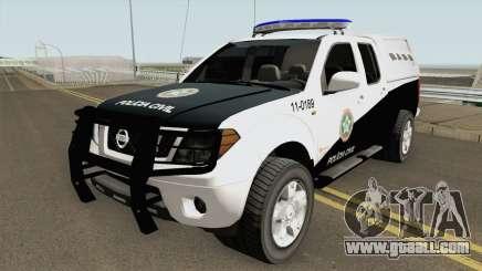 Nissan Frontier DPCA PCERJ 2013 for GTA San Andreas