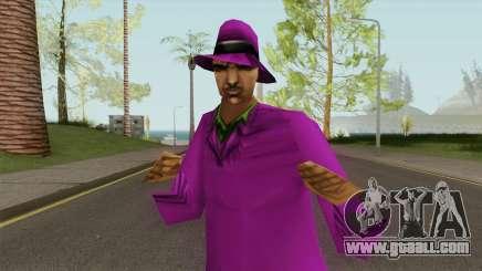 Proxeneta Pimp GTA III for GTA San Andreas