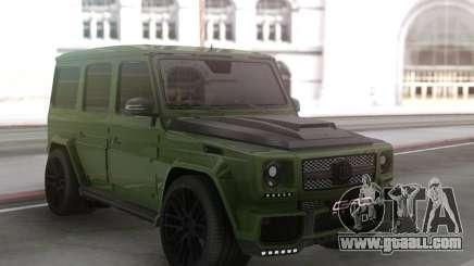 Mercedes-Benz G63 Green for GTA San Andreas