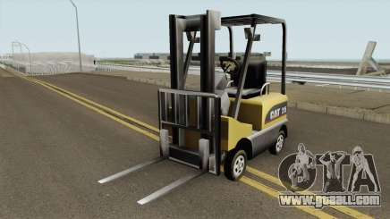 Forklift Empilhadeira TCGTABR for GTA San Andreas
