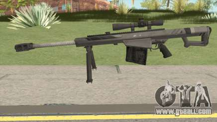 BARRETT XM109 Carbon Fiber (.25mm) for GTA San Andreas