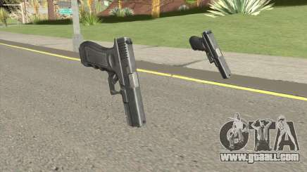 CSO2 Glock 17 for GTA San Andreas