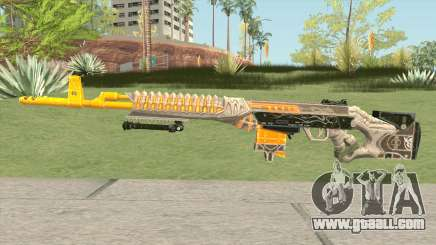 Rules of Survival SVD Skull Splitter for GTA San Andreas