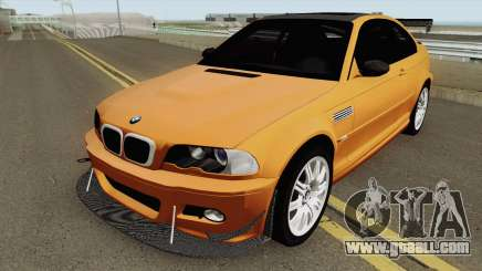 BMW M3 E46 (Fully Tunable and Paintjobs) 2004 v1 for GTA San Andreas