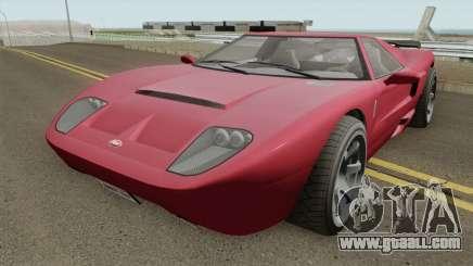 Vapid Bullet GT GTA V IVF for GTA San Andreas