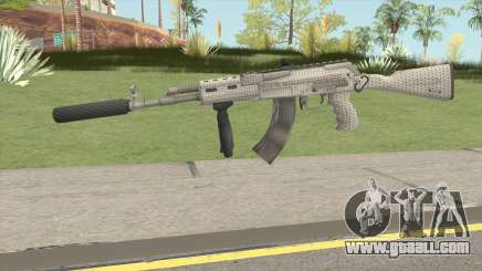 Modern AK47 Silenced for GTA San Andreas