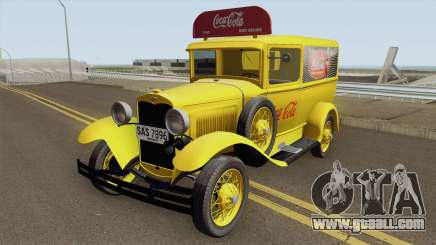 Ford Model A Delivery Van Coca Cola for GTA San Andreas