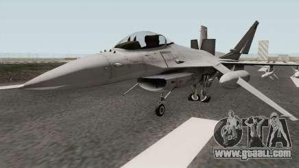 Lockheed Martin F-16L Overwatch Falcon for GTA San Andreas