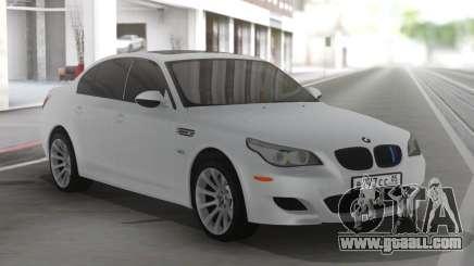 BMW M5 E60 Clear White for GTA San Andreas