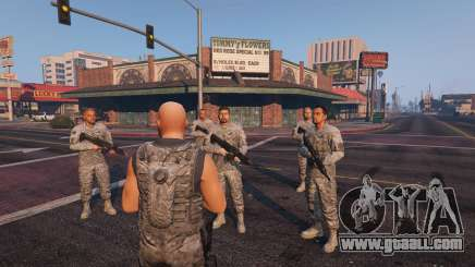 Warfare MOD 1.0 for GTA 5