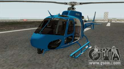 Helicoptero Fenix 02 do GAM PMERJ for GTA San Andreas
