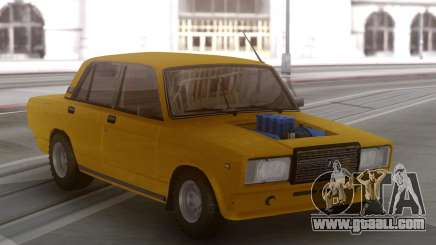 VAZ 2107 with a V8 engine for GTA San Andreas