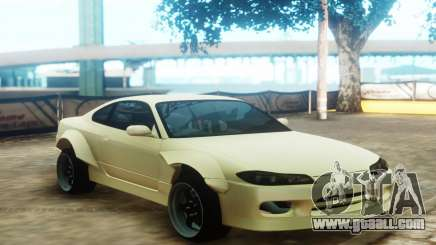 Nissan Silvia S15 Custom Fenders for GTA San Andreas