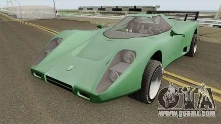Ocelot Jackal Y GTA V for GTA San Andreas