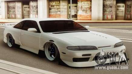 Nissan Silvia S14 Zenki White for GTA San Andreas