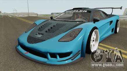 Airborne Mosler Super GT (Tyrus Style) Asphalt 8 for GTA San Andreas
