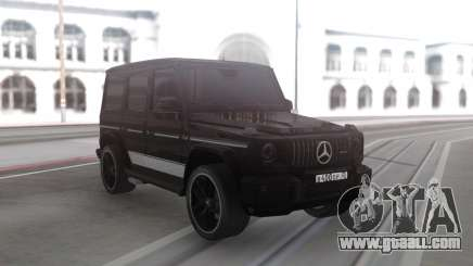 Mercedes-Benz G63 Black Offroad for GTA San Andreas