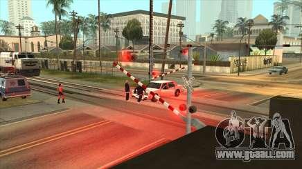 The missing gates in Los Santos for GTA San Andreas