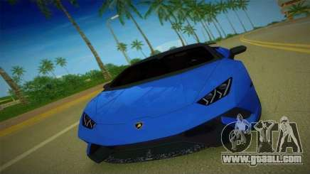 Lamborghini Huracan Performante Spyder for GTA Vice City