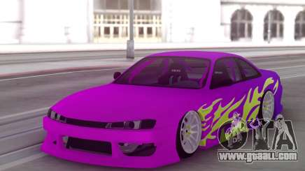 Nissan 200SX S14 Gradient Factory New for GTA San Andreas