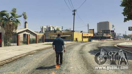 Flaming Footprints 1.0 for GTA 5