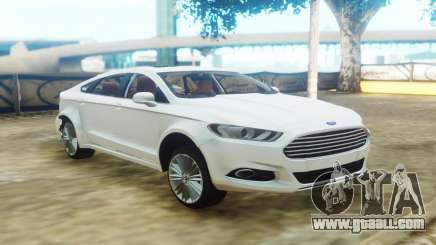 Ford Fusion White for GTA San Andreas