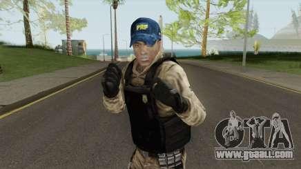 Skin Da Policia Rodoviaria Federal for GTA San Andreas