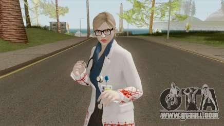 GTA Online: Zombie Outbreak Female Skin for GTA San Andreas