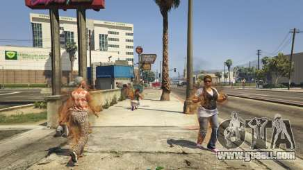 Human Torch 1.4 for GTA 5
