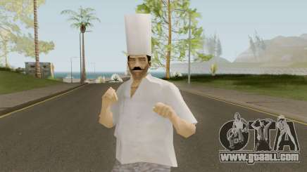 Chef From VC for GTA San Andreas