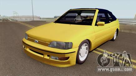 Ford Escort XR3 1995 Cabriolet for GTA San Andreas