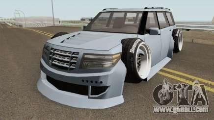 Nissan Patrol WideBody 2016 for GTA San Andreas