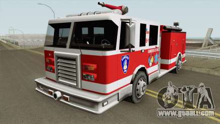 Chilean Firetruck for GTA San Andreas
