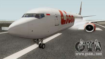 Boeing 737NG Lion Air for GTA San Andreas